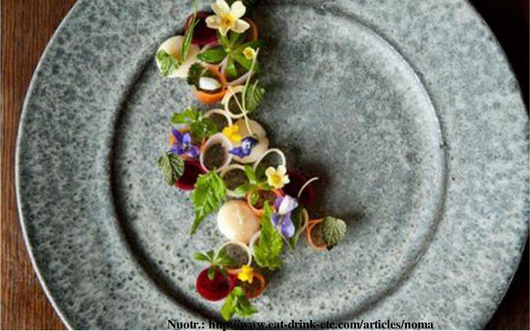 noma, teminis vakaras, restoranas siesta, Vakarienė, įkvėpta geriausių pasaulio restoranų