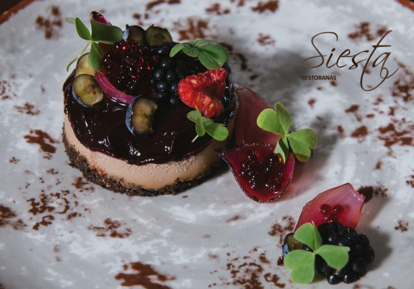 Specialus rudens pasiūlymas restoranas Siesta