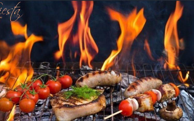 BBQ vakaras restorano Siesta klieme