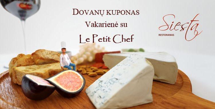 Le Petit Chef dovanų kuponas